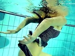 Skinny Doll Duna Bultihalo Swimming Naked In A Pool