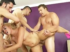 Blonde Tinslee Reagan Asks David Loso To Drill Her Sweet Mouth After She Gets Fucked In Her Backside