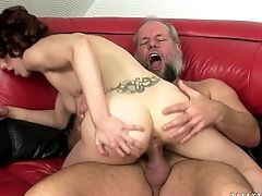 Matures Shows Her Dick Sucking Talents