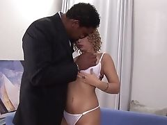 Incredible Adult Movie Star Luba Love In Fabulous Facial Cumshot, Interracial Adult Clip