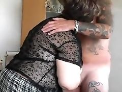Fabulous Homemade Movie With Brown-haired, Blow-job Scenes