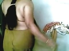 South Indian Mallu Aunty Romance With Husbend Brutha.mp4