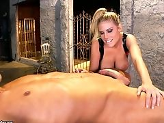 Big Tits Domina Charisma Gets Fucked From Behind