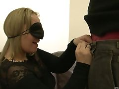 Eyes Covered Milky Sweetie Ashley Rider Bj's Delicious Black Prick
