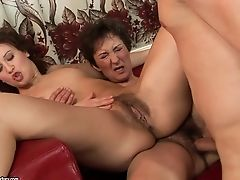 Matures With Round Donk Is Good On Her Way To Make Horny Stud Bust A Nut On Oral Act