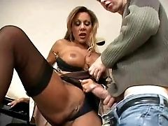 Hot Busty Milf Cougar Demi Delia Bangs Student