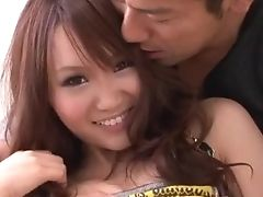 Miyu Gargles Meatpipe And Fucks Hard In Unspoiled Asian Xxx