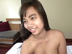 All Natural Thai Nubile Fucked Sans A Condom And Creampied