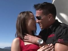 Salacious Stunner Kristina Rose Is Fucked By Hot Blooded Bf Marco Bandras