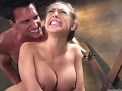 Appetizing Big Titted Beauty Kagney Linn Karter Gets Hammered By Horny Stud