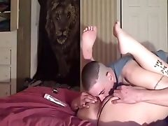 Eating My Dolls Cock-squeezing Humid Vulva