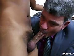 Mentor And Asian Boy Josh Spin Fuck