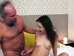 Teenager Honey Gets Her Mouth Ruined By Dudes Love Stick