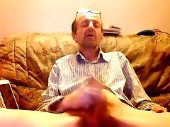 Me Horny Jerking Orgasm