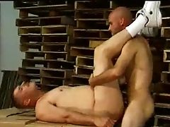 Warehouse Building Butt-pounding Muscled Hunks