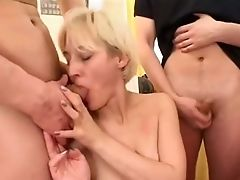 Incredible Homemade Clip With Money-shot, Blonde Scenes