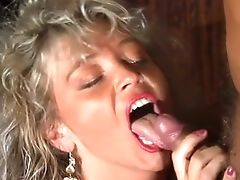 Lovely Pink Cigar Greedy Blonde Mummy Even Closes Her Eyes