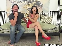 Horny Sex Industry Stars Dana Vespoli, Tommy Gunn In Incredible Natural Tits, Asian Xxx Movie