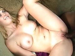 Blonde Emma Ash Perceives Intense Sexual Desire While Getting Her Face Covered In Love Juice