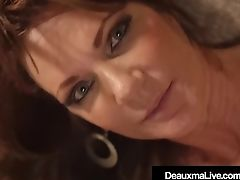 Cougar Deauxma Fucked In Her Matures Muff By A Big Black Hard-on