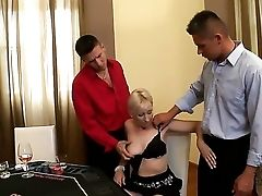 Sweet Cougar Honey Samantha Milky Is Being Taunted