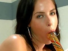 Tricia Oaks Plays With Her Asshole