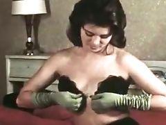 Beautiful And Youthfull Milky Dark-haired Chicks From Retro Porno
